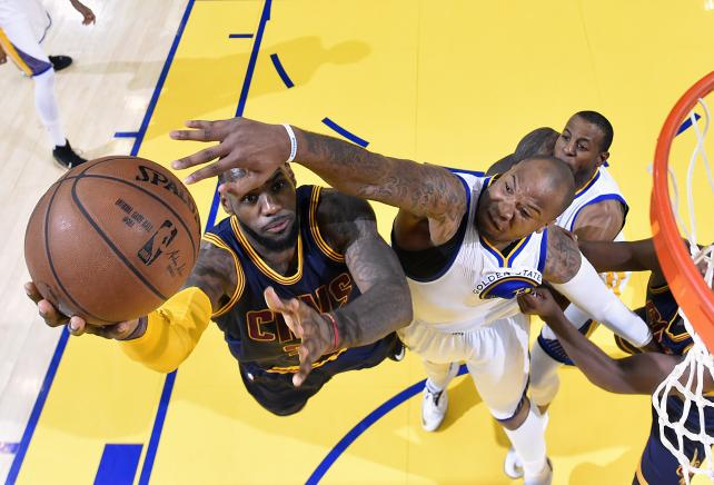 Cleveland Caveliers vs. Golden State Warriors, Game 2 NBA Finals, June 7, 2015