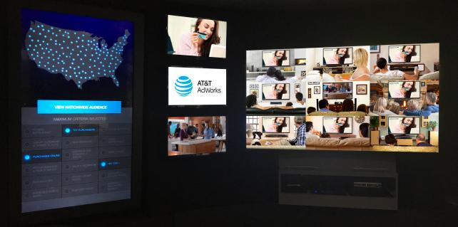 AT&T is on a road show to describe for advertisers results of some addressable campaigns in recent years.
