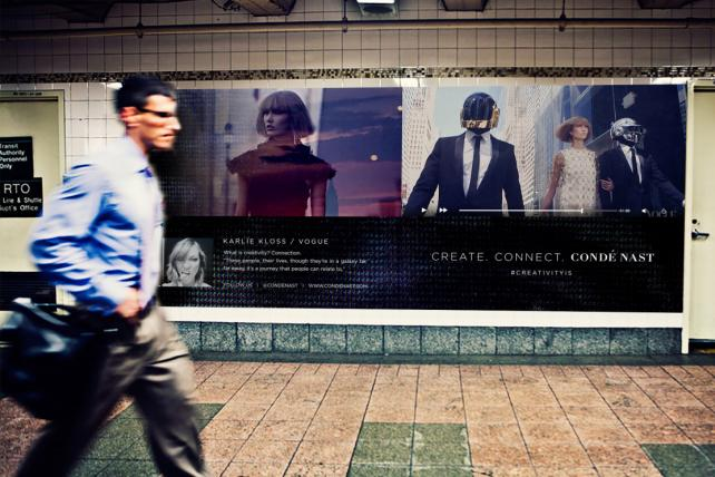 A rendition of an advertisement that will appear in Grand Central Terminal.