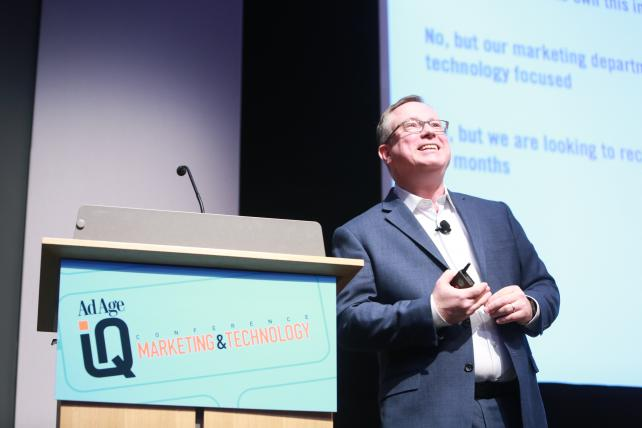 Scott Brinker, editor of chiefmartec.com, asks if brands are ready for digital everything at AdAge's IQ Conference: Marketing & Technology.