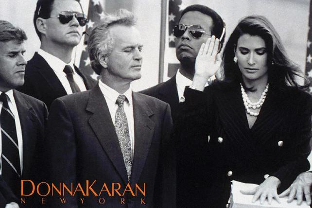 Classic Ad Review: Donna Karan and Madam President