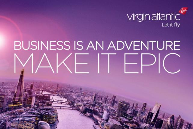 Virgin Atlantic Campaign for Business Travelers Takes Flight
