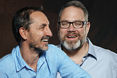David Droga and Ted Royer
