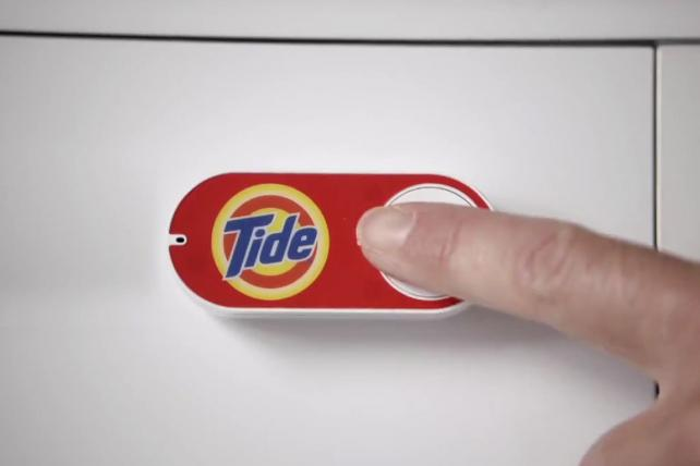 P&G's Tide is among the brands participating in tests of Amazon Dash.