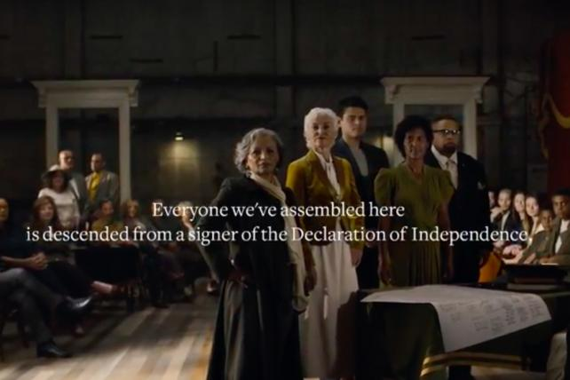 Ancestry.com Highlights the Diversity of Descendants of Declaration Signers