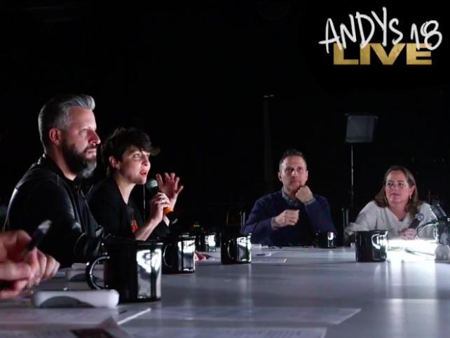 Andy jurors go live
