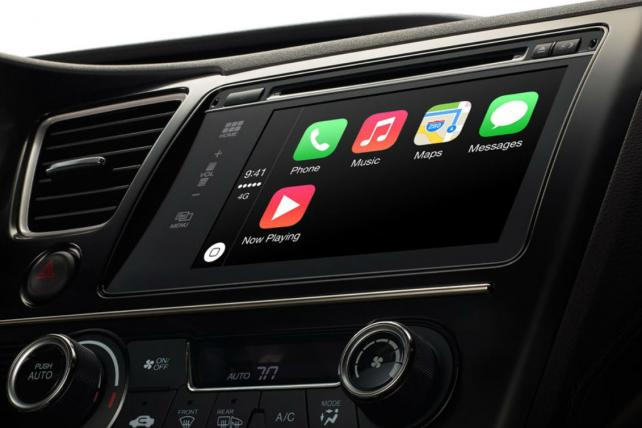 Apple's CarPlay may be the tip of the iceberg.