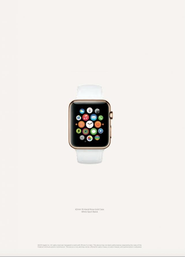 Apple Runs First Watch Ads: 12 Pages in Vogue