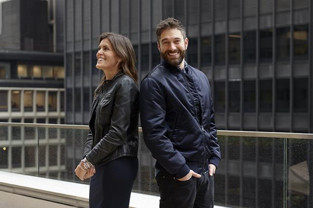 DDB North America CEO Wendy Clark and CCO Ari Weiss.