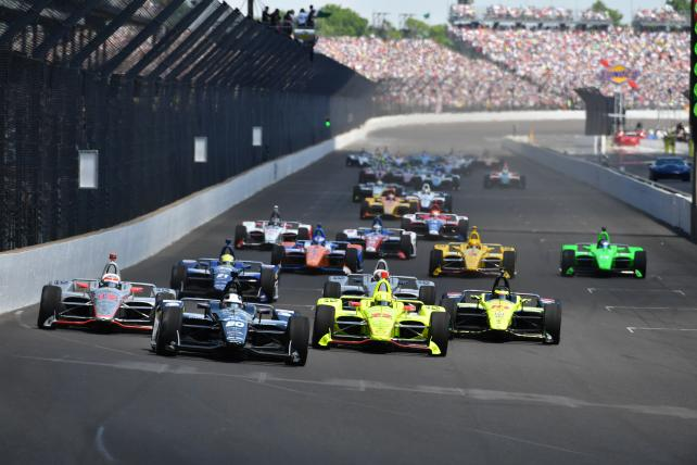 NBC Sports is riding co-pilot in IndyCar's title sponsor search