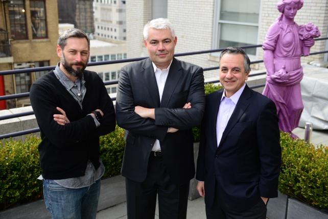 Michael Nicholas, Martin Cass, Steve Farella