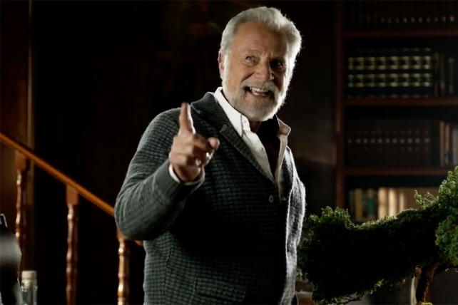 Astral Tequila borrows more from the Dos Equis-Jonathan Goldsmith playbook