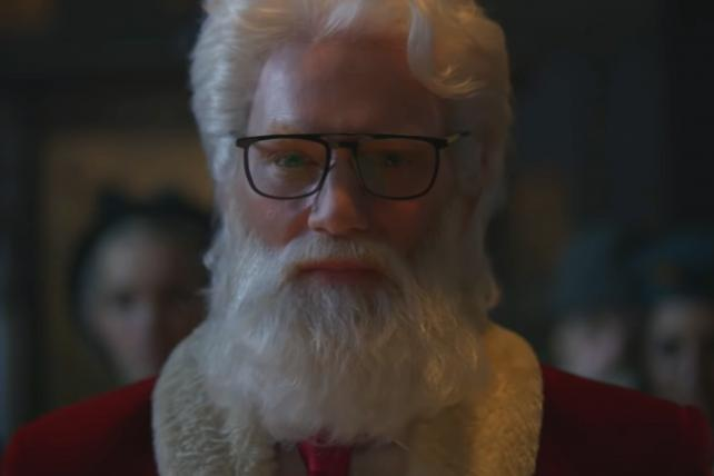 Audi's Santa has midlife crisis, sheds pounds to fit in a sports car