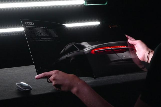Departures Is Sending Out Key Fobs For Oled Animated Audi Ad Media