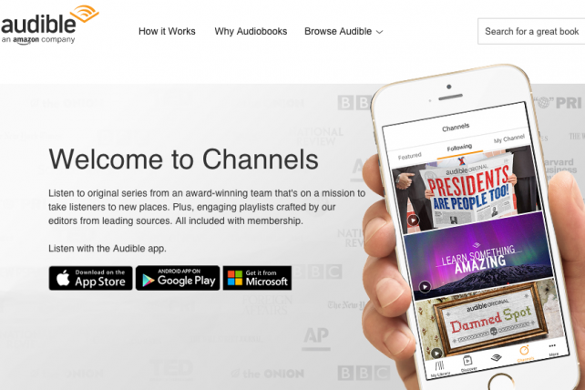 Amazon's Audible Introduces Podcast Subscription Service