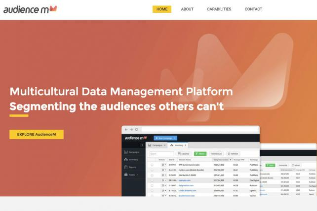 Gravity's Audience M segmentation platform screenshot