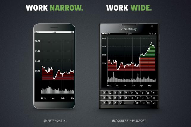 BlackBerry Taps B-to-B Agency Gyro to Remake Its Brand