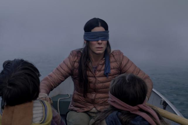Sandra Bullock in Netflix' 'Bird Box'