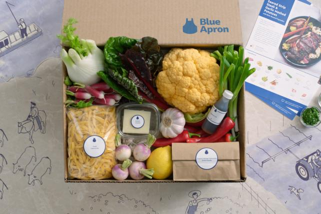 Wednesday Wake-Up Call: Blue Apron Gets an Odd Endorsement. And Netflix Snags a Hit-Maker