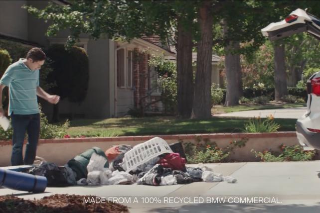 Goodby's new BMW campaign consists entirely of old ads