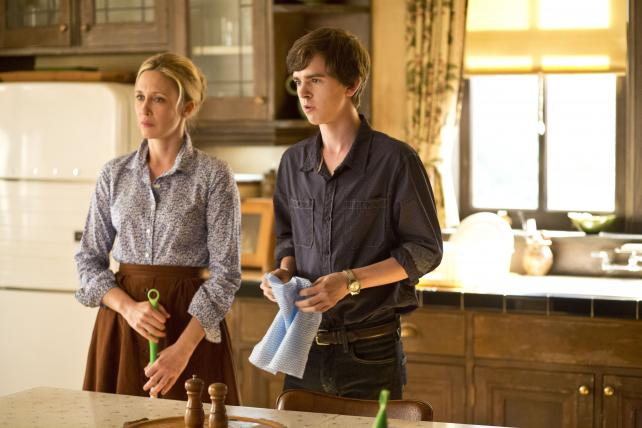 Norma and Norman on A&E's just-concluded 'Bates Motel.'