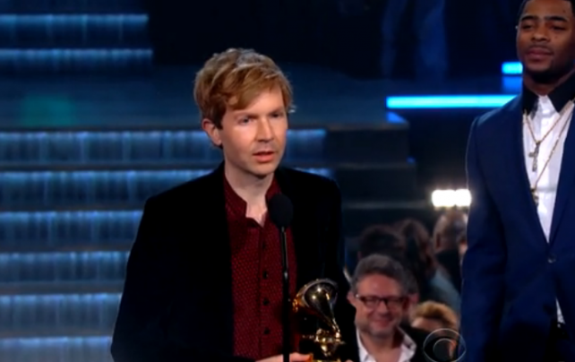 Beck took home awards for Best Rock Album and Album of the Year.