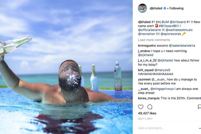 Ads or not? DJ Khaled faces scrutiny over social media posts plugging booze brands
