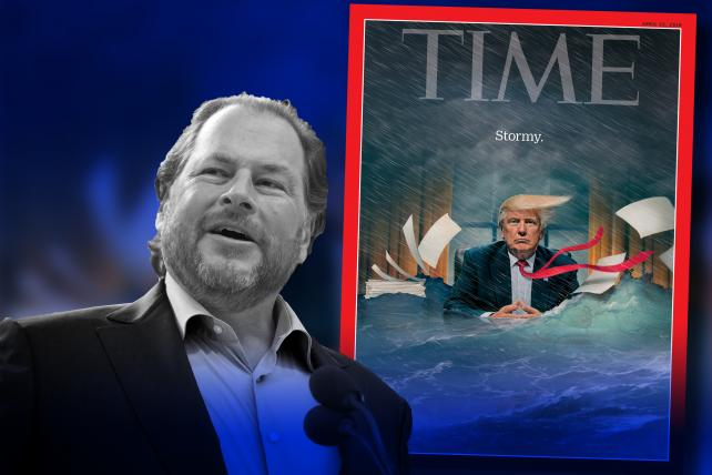 Time Magazine purchased by Salesforce founder Marc Benioff and wife Lynne