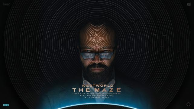 Jeffrey Wright as Bernard Lowe in an ad for 'Westworld: The Maze.'