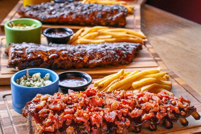 TGI Fridays ribs