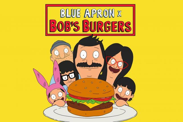 Bob's Burgers and Blue Apron: A partnership too gouda to be true