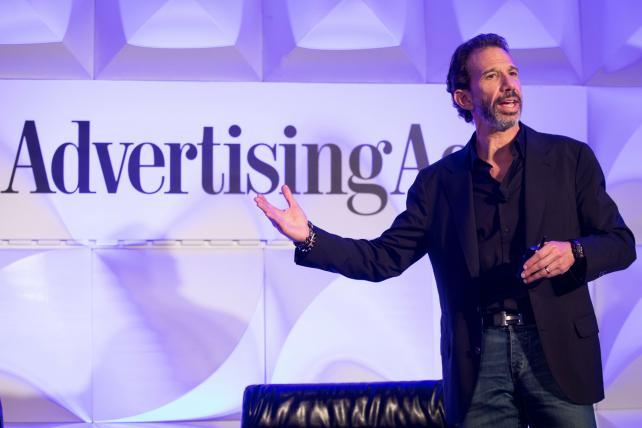 Lee Applbaum, Patrón Spirits International's Global Chief Marketing Officer, speaking at last year's Brand Summit in Los Angeles.