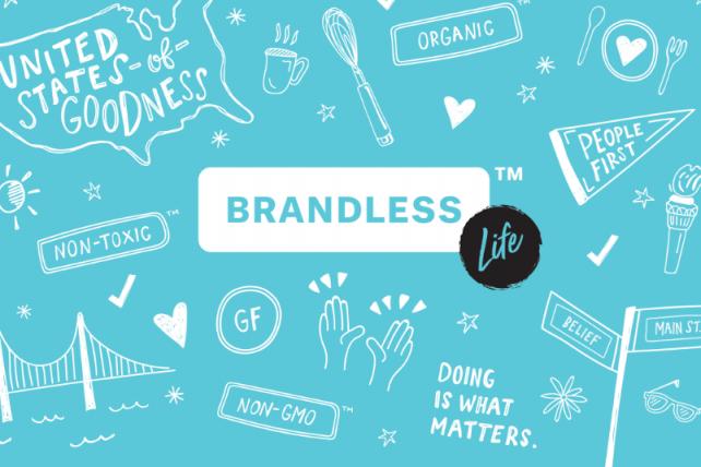 Brandless will host a pop-up.