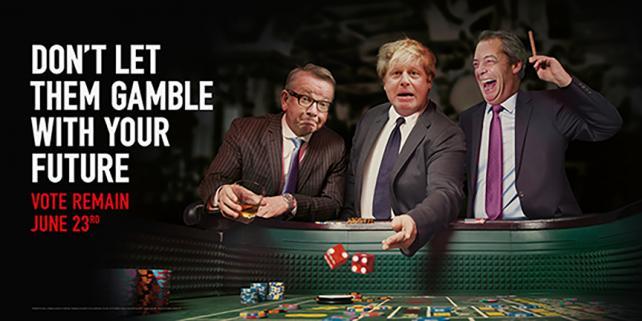 Remain's 'Gamble' ad, via Adam&Eve/DDB London.