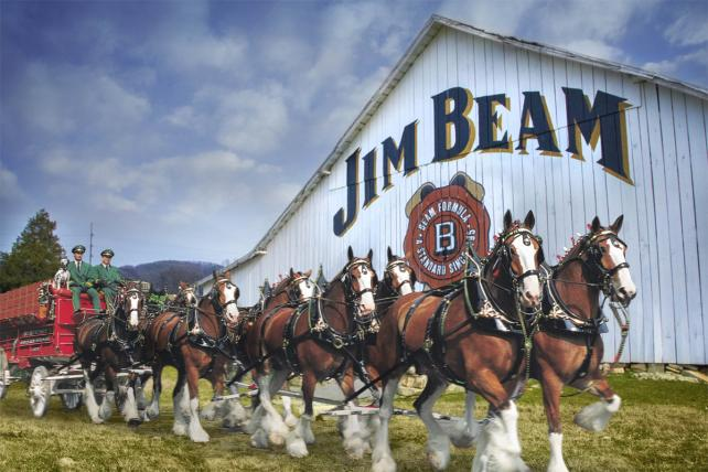 Budweiser and Jim Beam 3x2