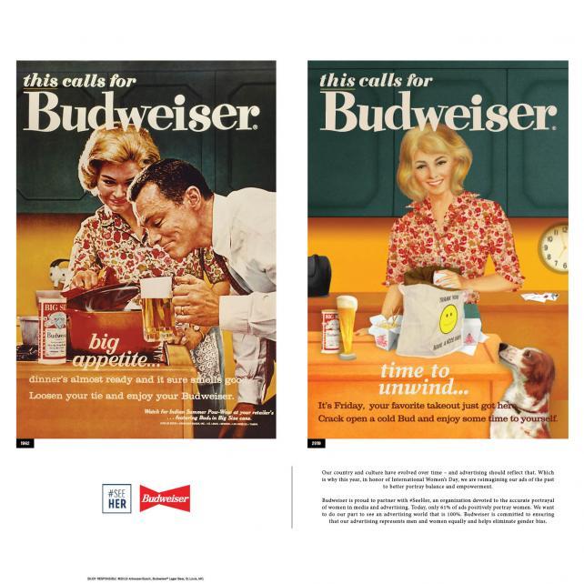 Budweiser International Women's Day Chicago ad