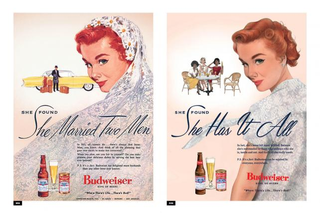 Budweiser modernizes its old sexist ads for Women's Day campaign