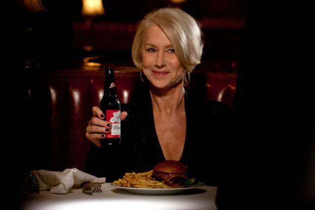 Helen Mirren Stars in Bud's Anti-Drunk Driving Super Bowl Ad