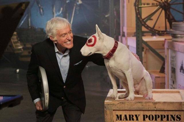 Dick Van Dyke and Target's Bullseye bonded over
