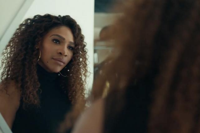 Watch Serena Williams make the first move in Bumble's Super Bowl ad