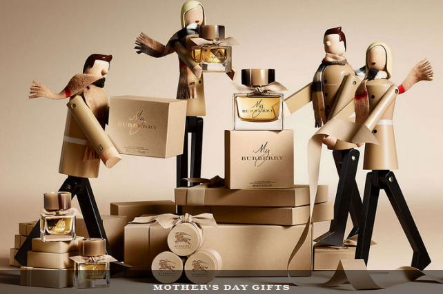 Burberry's online store