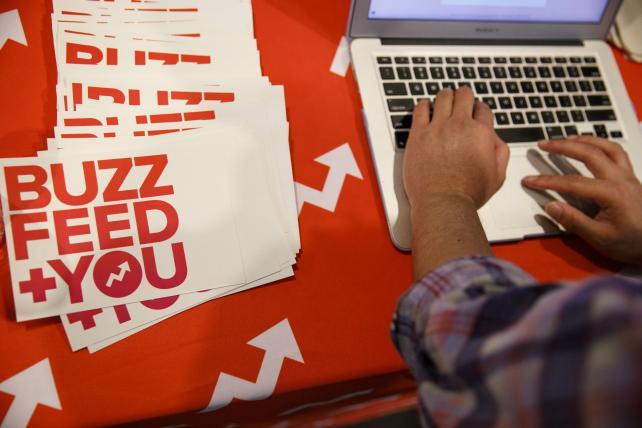 Tuesday Wake-Up Call: BuzzFeed News asks for donations, and the NFL hires a new chief marketer