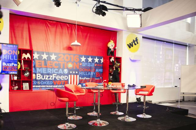 BuzzFeed's election night coverage will be live-streamed on Twitter.