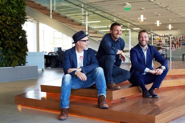 72andSunny's John Boiler, Glenn Cole and Matt Jarvis (Robert Nakata not pictured)
