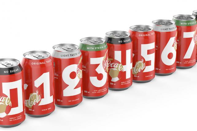 Coca-cola Score Packaging.