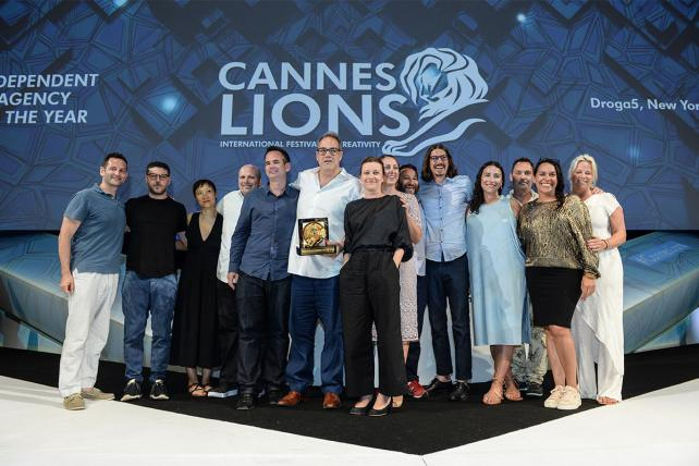 Droga5, Cannes Lions 2017 Independent Agency of the Year