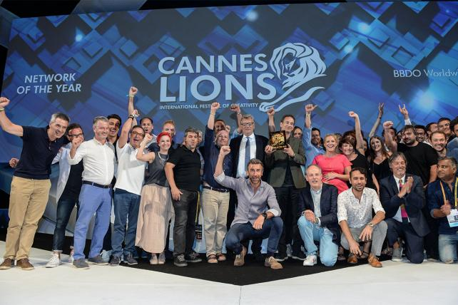 BBDO Cannes Lions 2017 Network of the Year