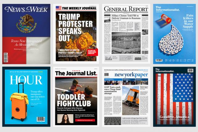 Get your misinformation here! CJR opens 'Fake News Stand' in NYC