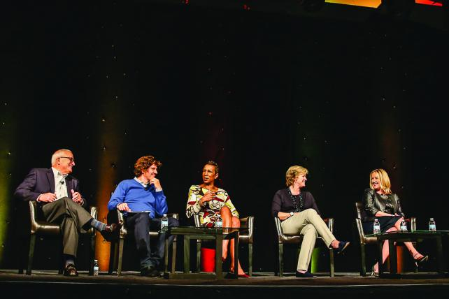 A CMO Roundtable at ANA's Masters of Marketing conference debated the value of GRPs.