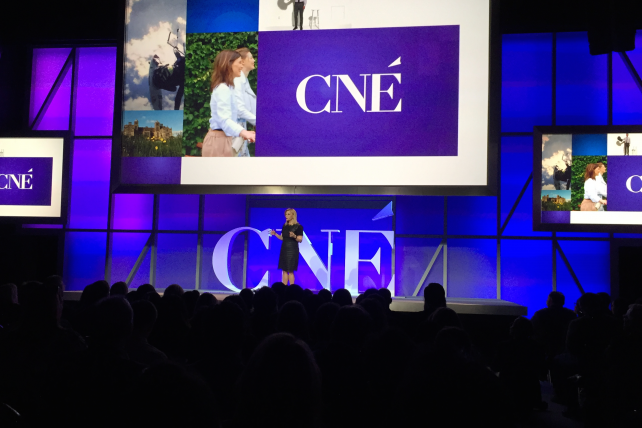 Dawn Ostroff, president of Conde Nast Entertainment, at Conde Nast's 2015 NewFront presentation.